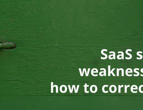 SaaS security weaknesses and how to correct them