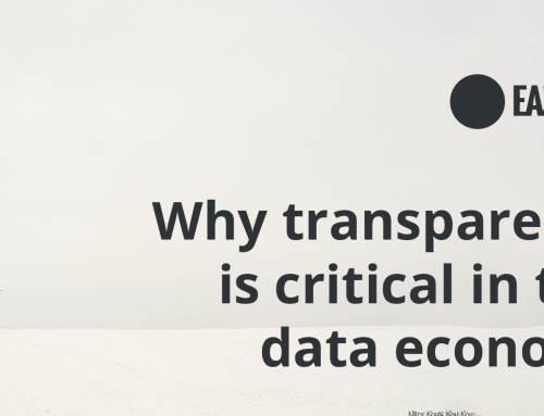 Why transparency is critical in this data economy