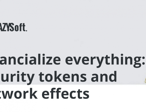 Financialize everything: security tokens and network effects